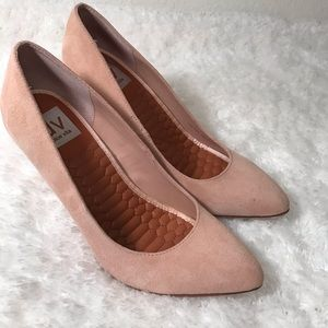 Dolce Vita Shoes - Dolce Vita pink suede heels pointed